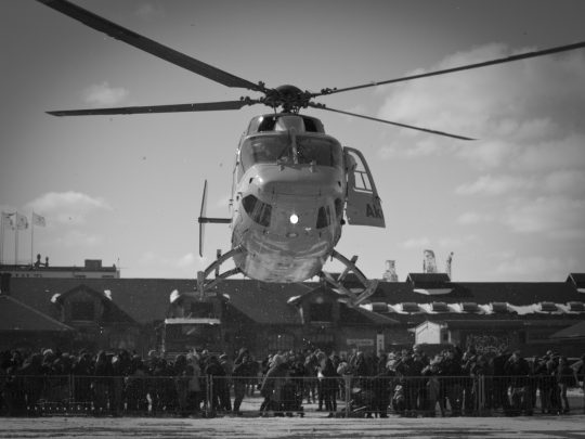 Akut redningshelikopter