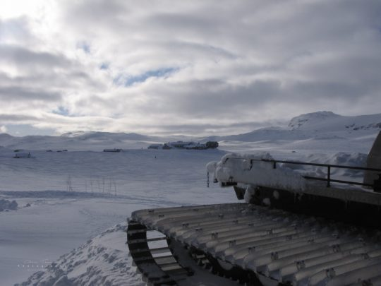Udsigt til Hardangerjökull