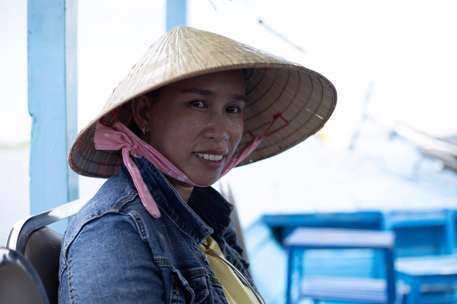 Faces of Vietnam - Portrætfotografi af en Vietnamesisk kvinde