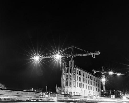 Byggegrund ved Hillerød station