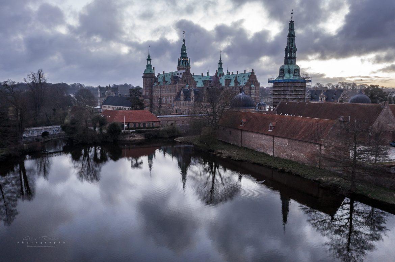 Frederiksborg Slot i Hillerød.