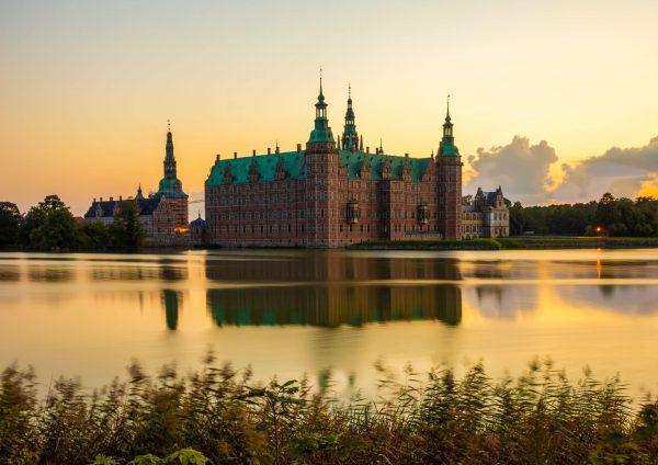 Fotografi af Frederiksborg Slot