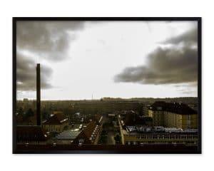 Luftfotografi af Nordsjællands Hospital - Hillerød.